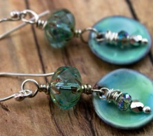Turquoise heaven earrings