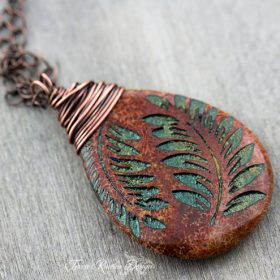 Fern Leaves Necklace