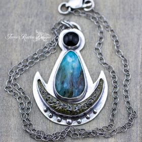 Mama Quilla or Mother moon necklace