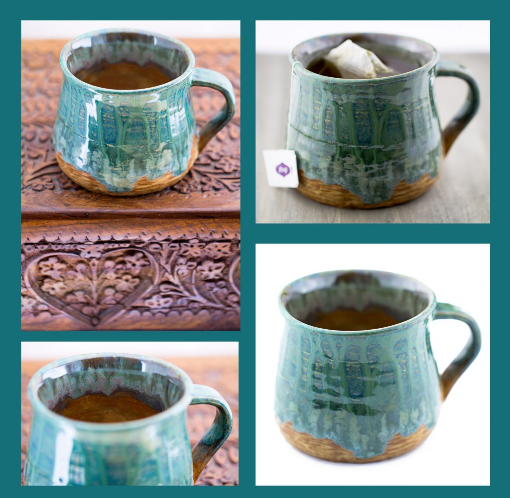 First hand thrown mug