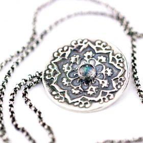 Cosmos Mandala Necklace
