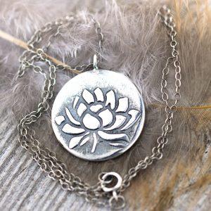 Lotus Awakening necklace