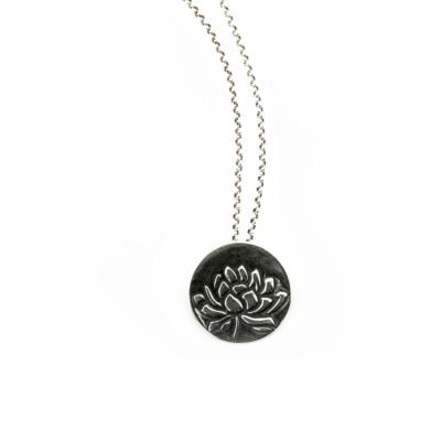 Lotus Awakening Necklace-Terra Rustica Jewelry