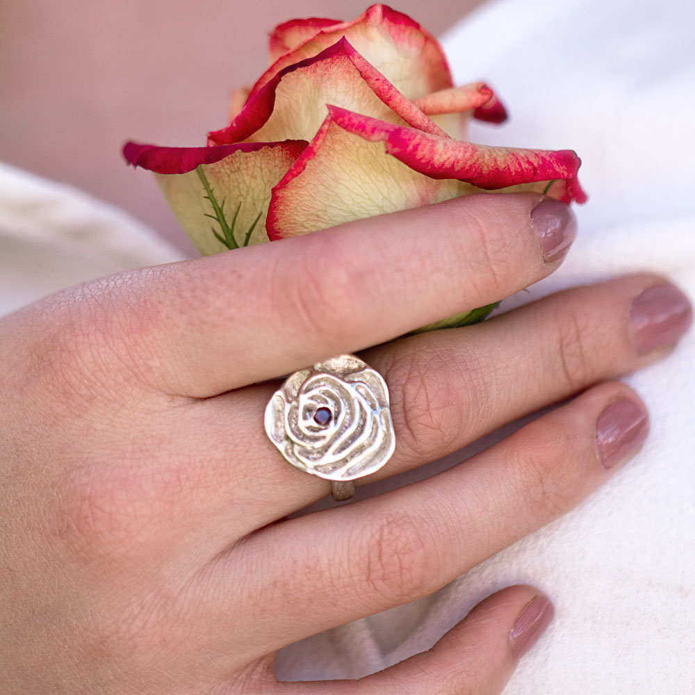 My Sweet Rose Ring-Terra Rustica Jewelry