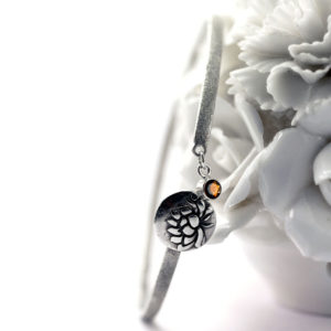 Lotus Awakening Bangle-Terra Rustica Jewelry