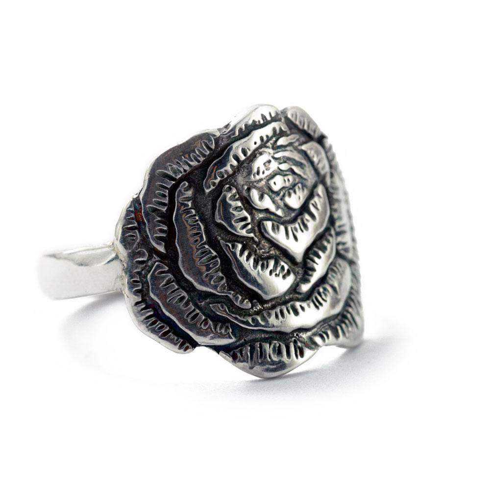 Peony Flower Ring-Terra Rustica Jewelry