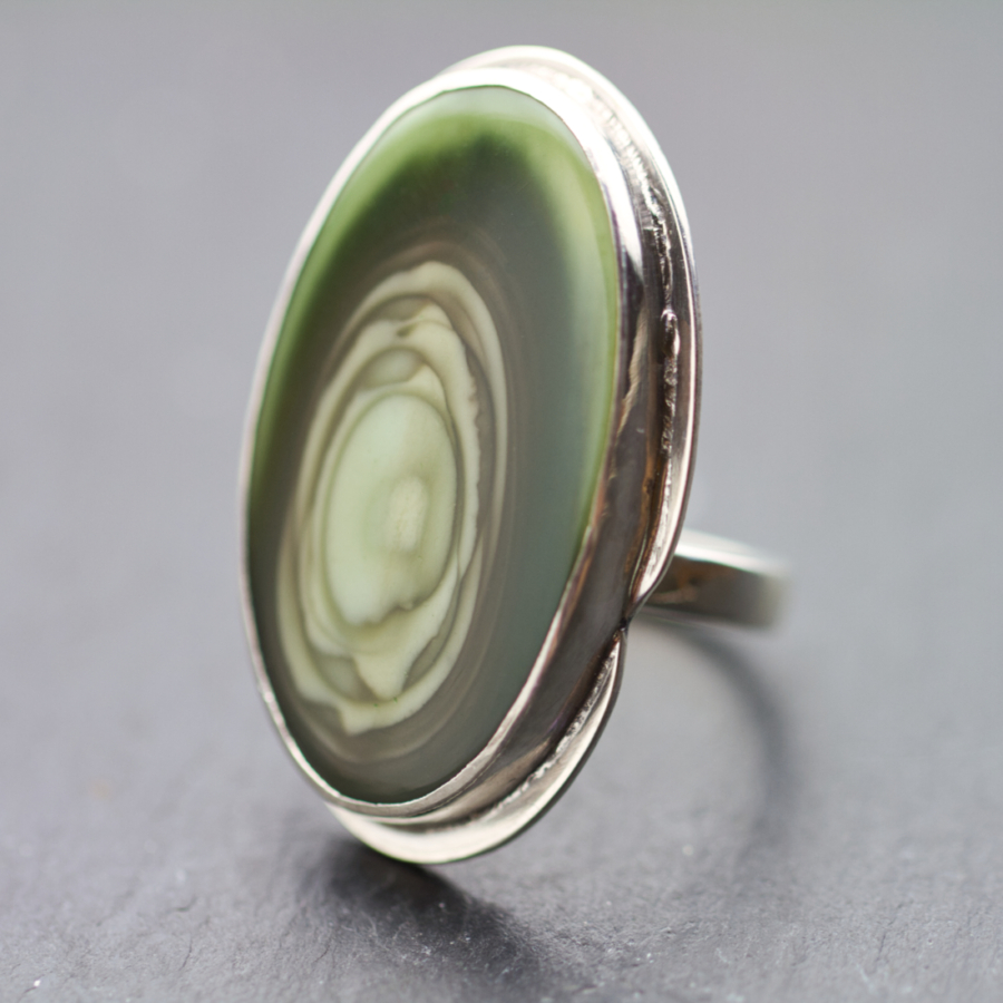 Royal Imperial Jasper Ring-Terra Rustica Jewelry