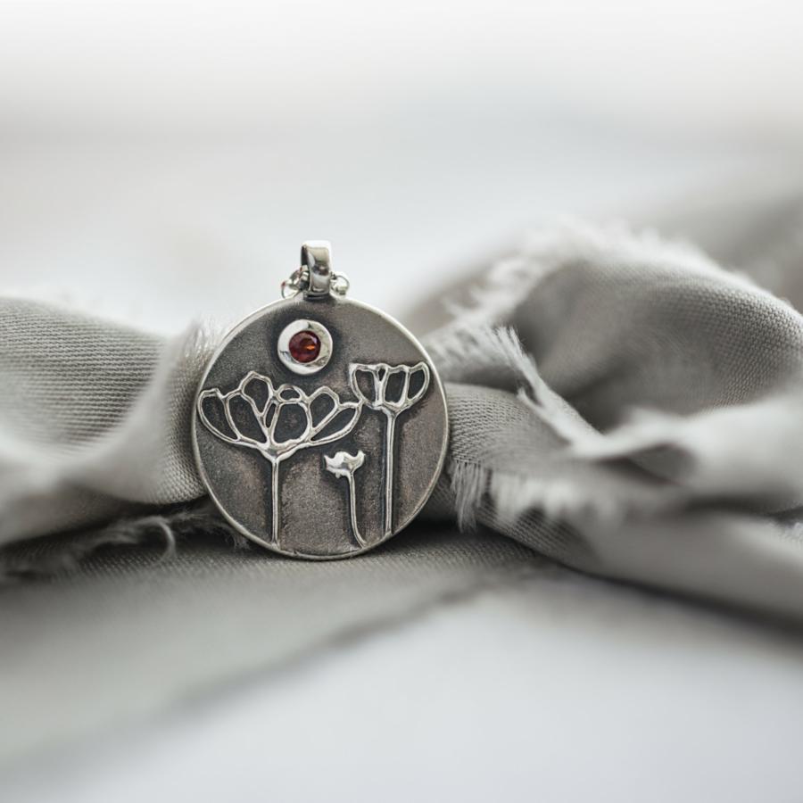 Cosmos Necklace with Gemstone